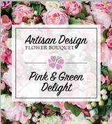 Artist's Design: Pink and Green Delight