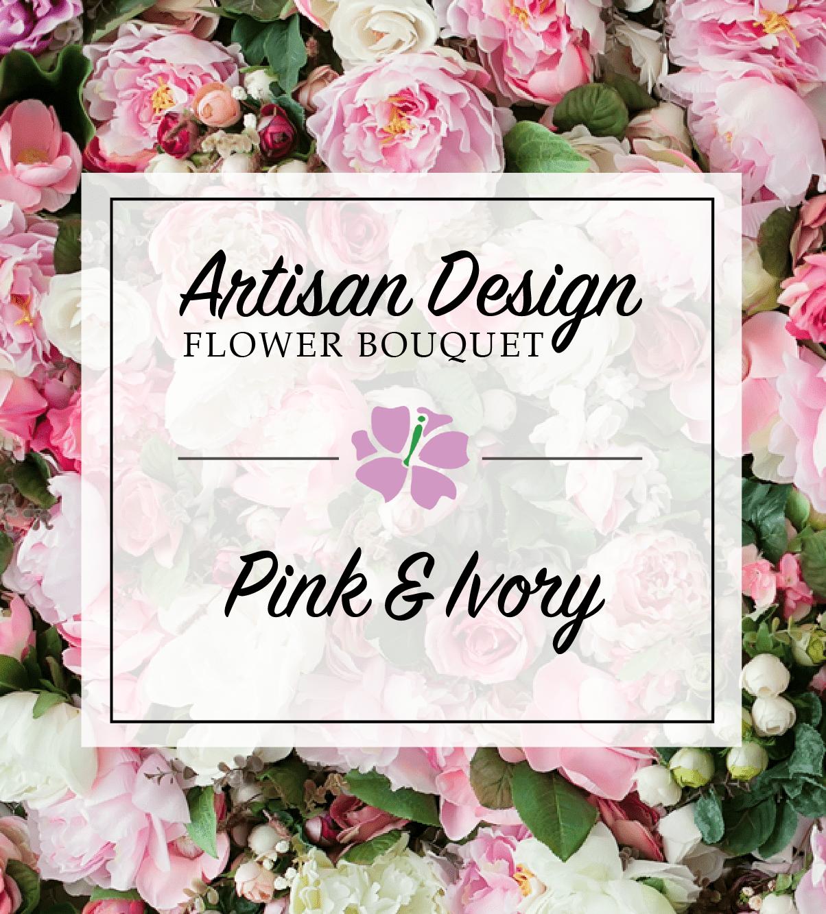Artist's Design: Pink & Ivory