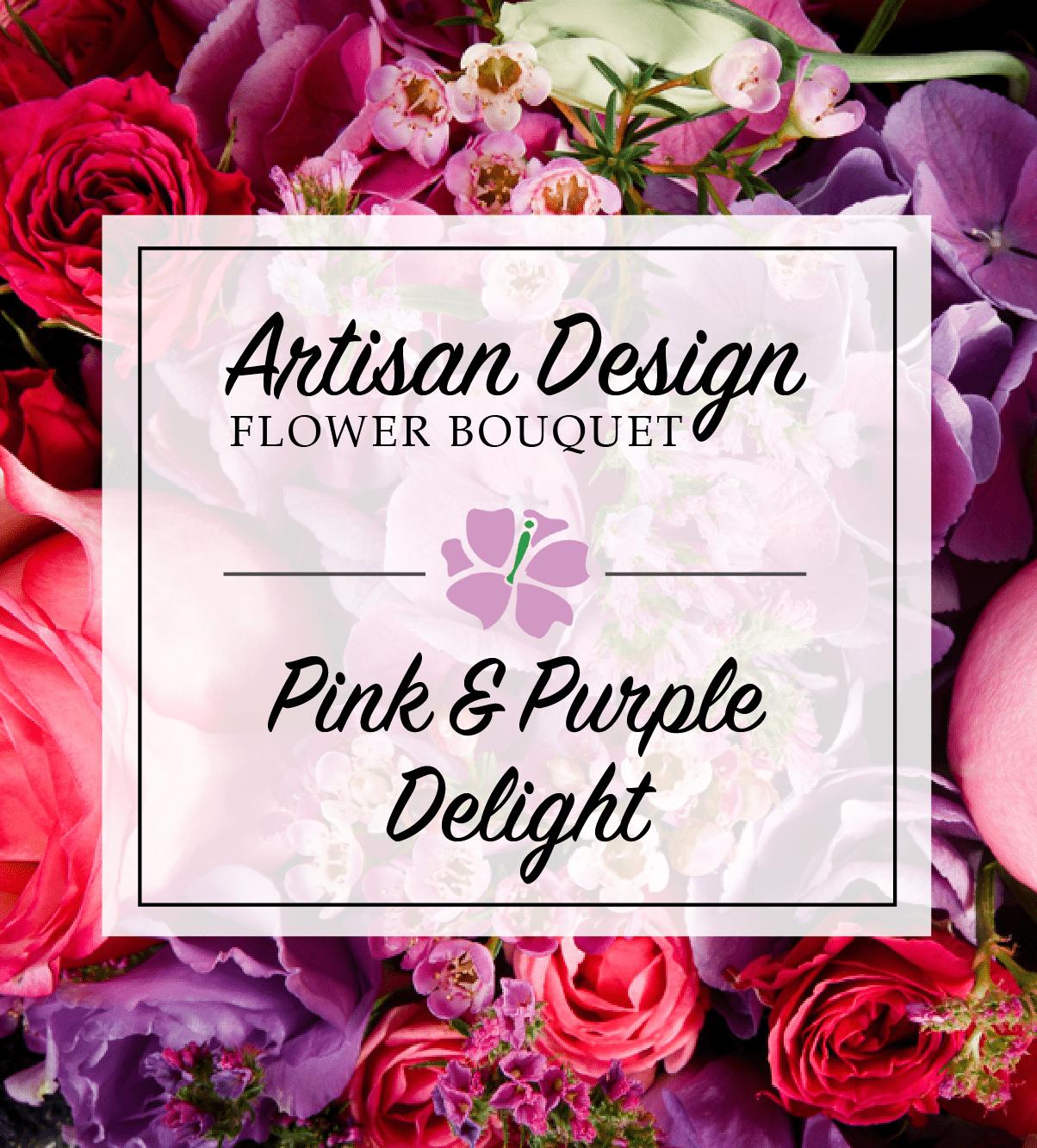 Artist's Design: Pink & Purple Delight