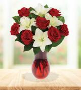 Classic Rose and Lily Bouquet