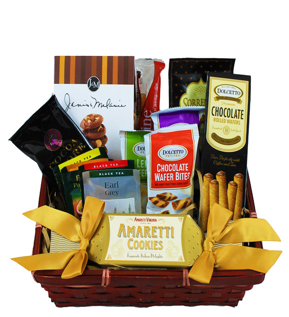 Comfort Cookie & Coffee Basket