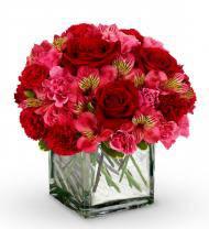 Deep Emotion Rose Bouquet