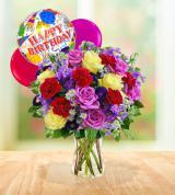 Floral Harmony Fantasy - Birthday