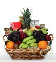 Fruit and Gourmet Gift Box