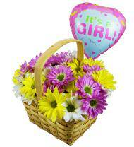 Girls Are Great Balloon and Bouquet