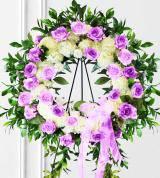 Lavender Sympathy Wreath