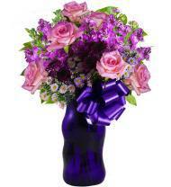 Pristine Purple Gorgeous Bouquet