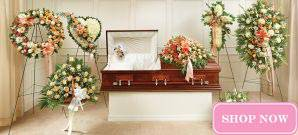 Sympathy Collections - Peach & White Collection