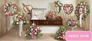 Sympathy Collections - Pink & White Collection