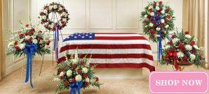 Sympathy Collections - Red, White & Blue Collection